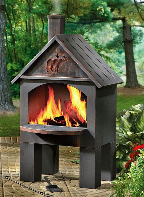 chiminea on wood deck metal chiminea pit pit pits