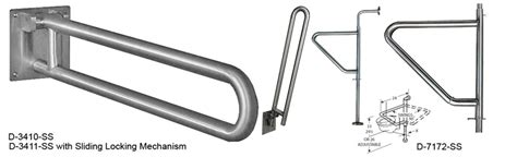 swing away grab bar swing up swing out grab bars move out of the way when