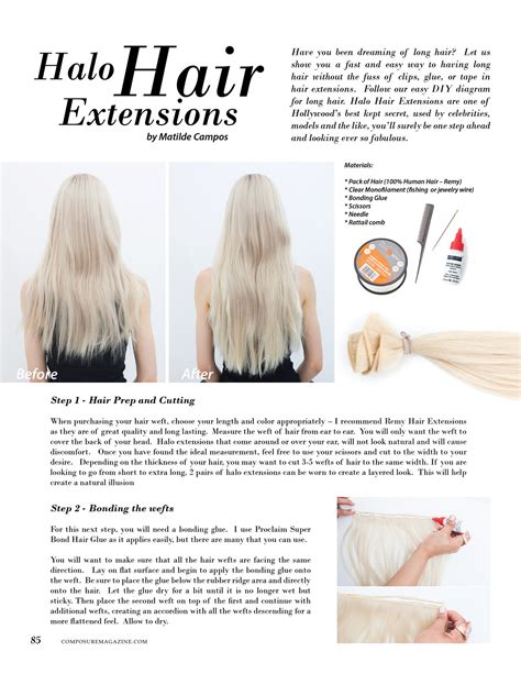 how to cut halo hair extensions beauty halo hair extensions composure magazine