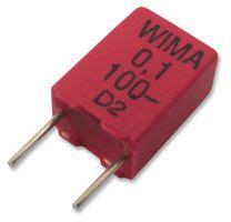 100nf capacitor farnell mkp2d031001f00kssd wima capacitor 0 1 181 f 100 v pp polypropylene 177 10 mkp2 series
