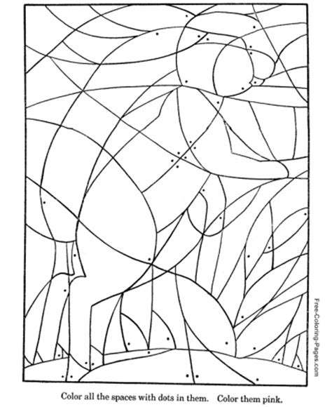 coloring puzzles picture puzzles for