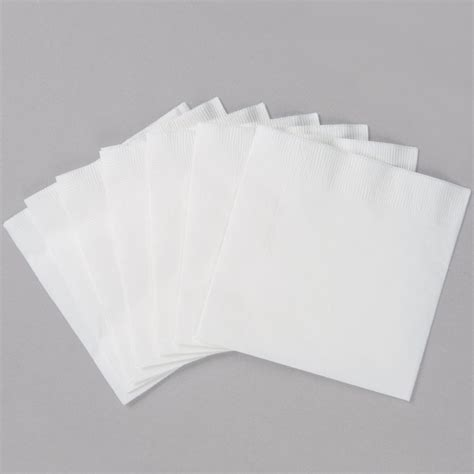 Folded Paper Napkins - 1 4 fold paper beverage napkin sku 45200 npscorp