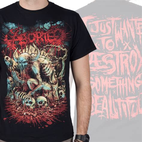 aborted goremageddon zip aborted quot godmachine quot t shirt aborted