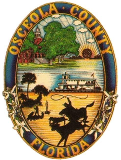 Osceola County Florida Arrest Records File Osceola County Fl Seal Jpg Wikimedia Commons