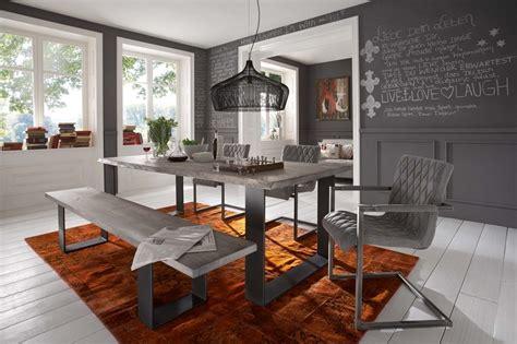 soggiorno con tavolo da pranzo tavolo da pranzo gold in legno massiccio mobile moderno