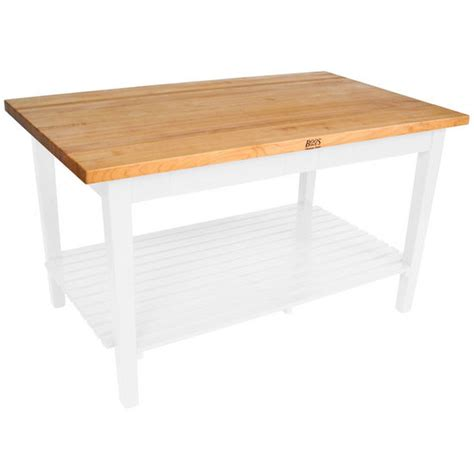 john boos classic country work table kitchen island 48 quot x kitchen islands classic country work table with shelf 36