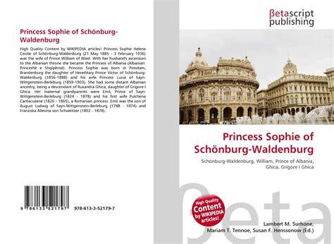 walden book voucher princess of sch 246 nburg waldenburg 978 613 3 52179 7