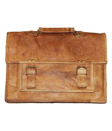 Handmade Leather Craft - handmade leather craft brown leather messenger and