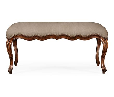 french provincial bench french provincial long bench
