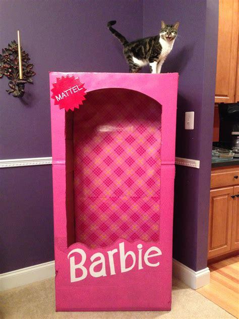 barbie photo booth layout cardboard secret dad society