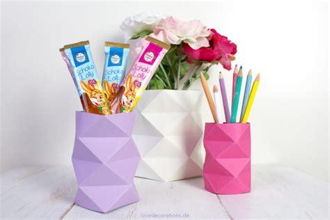 Paper Vase Origami - diy origami vase 3 decorations