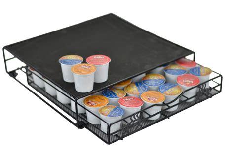Keurig K Cup Storage Drawer Coffee Holder by Keurig K Cup Storage Drawer Coffee Pod Holder For 36 K Cups Rack Organizer Black Ebay