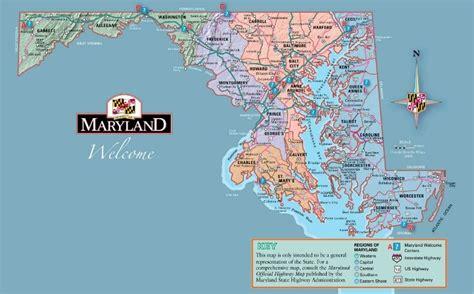 maryland eastern map maryland maryland