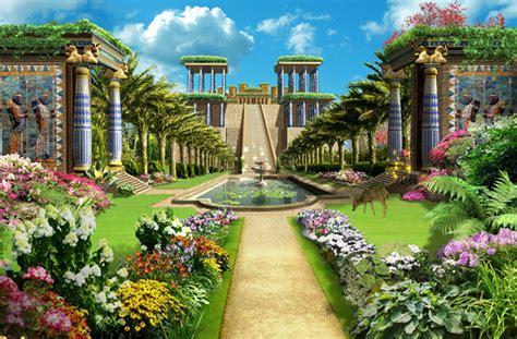 imagenes jardines babilonia jardines colgantes babilonia el arca de los dioses