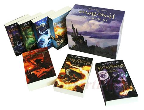 libro harry potter paperback box harry potter 7 books complete collection paperback boxed set children edition 1 9781408856772