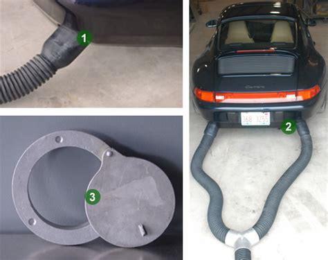 Car Fumes In Garage by Crushproof