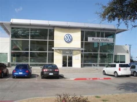 rusty wallis volkswagen car dealership  garland tx  kelley blue book