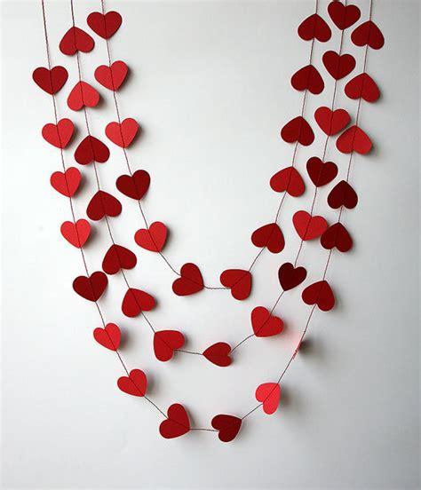 valentines day decor valentines day decor valentine decor heart garland