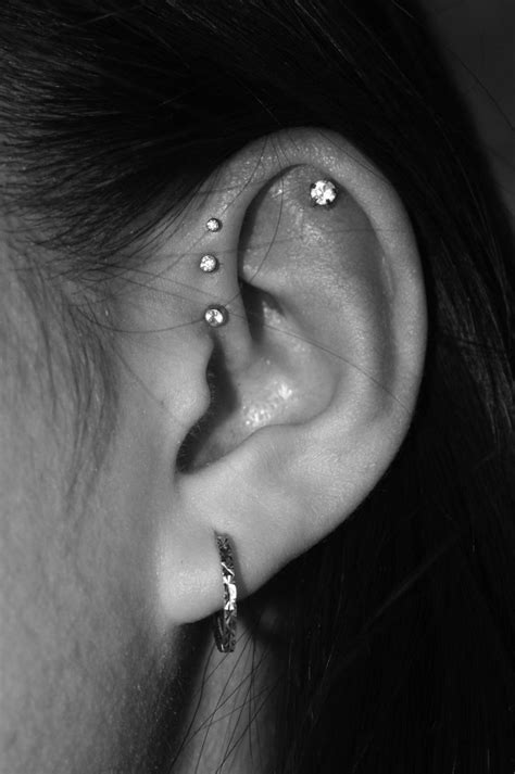 tattoo on back of ear cartilage 179 best tattoos piercings images on pinterest tattoo