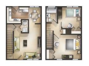 Two Bedroom Townhouse Pics Photos Bedroom Apartment 2 Bedroom Townhome 3