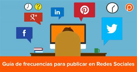 imagenes para publicar en redes sociales gu 237 a de frecuencias para publicar en redes sociales