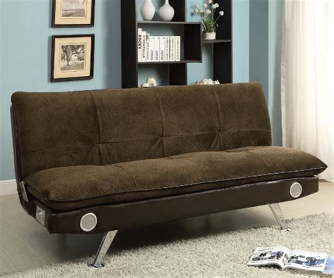sofa sound studio gallagher brown studio sofa bed futon with built in sound