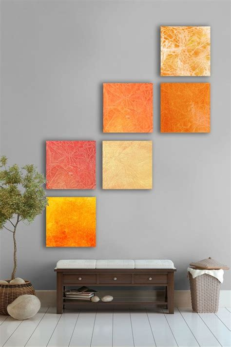 Orange Wall Decor by 17 Best Ideas About Orange Home Decor On Burnt