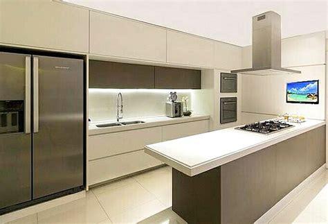 desain dapur modern kecil desain dapur kecil bawah tangga