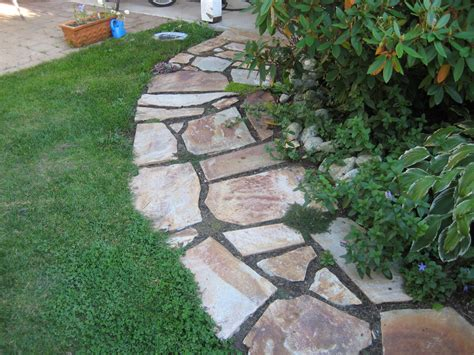 Design Ideas For Flagstone Walkways Flagstone Walkway