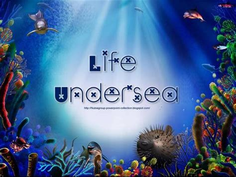 powerpoint themes sea powerpoint templates under the sea image collections