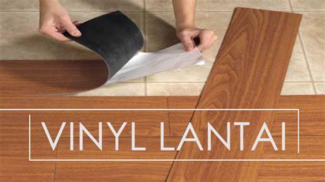 Lantai Vynill Floor Motif Kayu vinyl lantai alternatif selain keramik dan granit