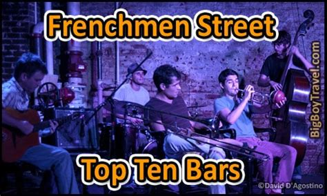 top 10 bar songs frenchmen street top ten bars for live music new orleans