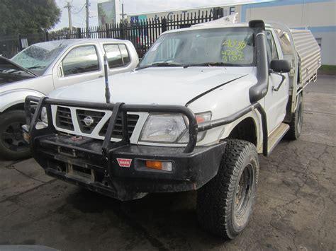 nissan turbo diesel nissan patrol y61 ute td42 turbo diesel 2000 wrecking