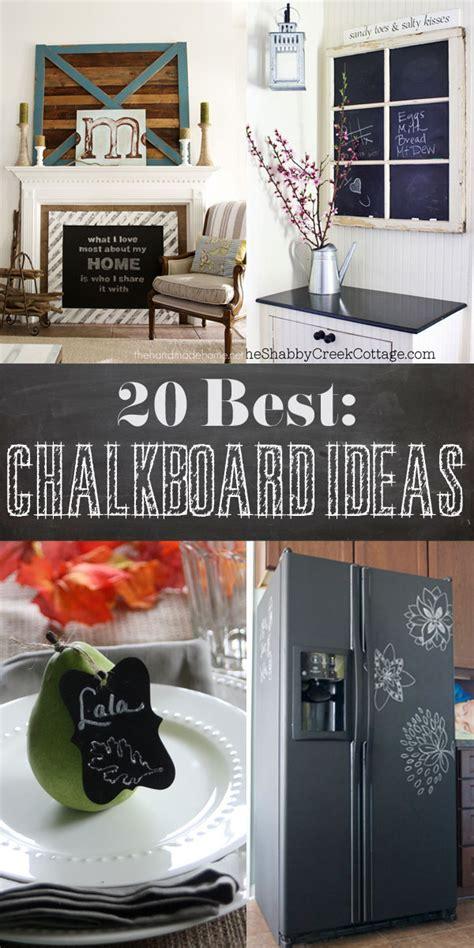 chalkboard diy projects 20 best diy chalkboard ideas