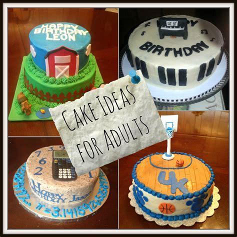 easy birthday cake ideas  adults  simple birthday