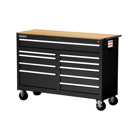 Husky 52 In 18 Drawer Tool Chest And Cabinet Set Black by Husky 52 In 18 Drawer Tool Chest And Rolling Tool Cabinet