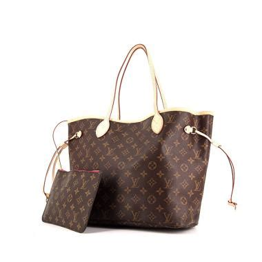 Lv Neverfull Medium Set Dompet second louis vuitton neverfull bags collector square