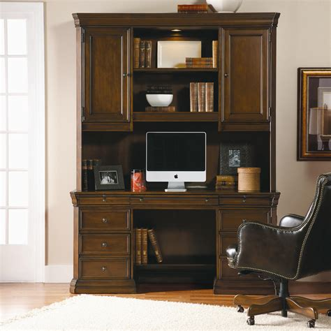 computer desk and hutch combinations hooker furniture cherry creek traditional desk and hutch