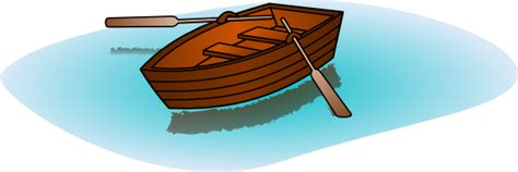 a row boat uses oars rowboat clipart