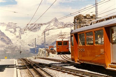treni a cremagliera panoramio photo of 1987 panorama cervino arrivo