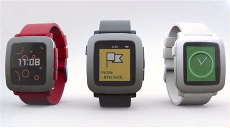 time with a pebble announces a new smartwatch with a color screen the next web