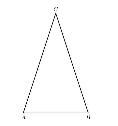 angoli interni triangolo isoscele problema di geometria triangolo isoscele 3 la risposta