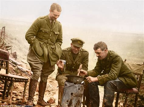 siege cook photos of troops on the of the somme 100 years