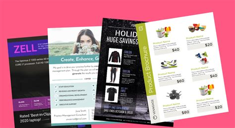 templates for product flyers 15 highly shareable product flyer templates tips venngage