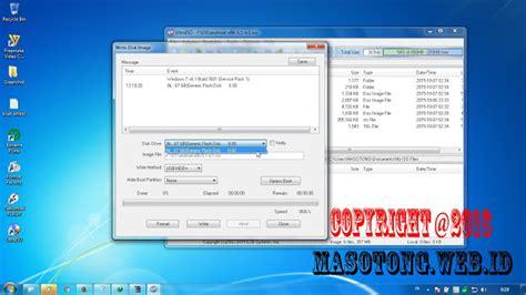 cara membuat usb bootable windows 7 dengan ultraiso cara membuat bootable usb flashdisk dengan ultraiso ilmu