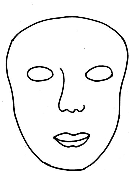 Mask Template by Masks Made Simple With Free Template Sphere Inc
