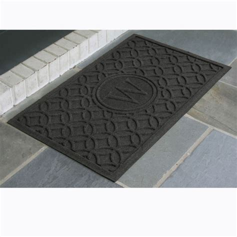 Entry Door Mat by Water Guard Personalized Entry Door Mat