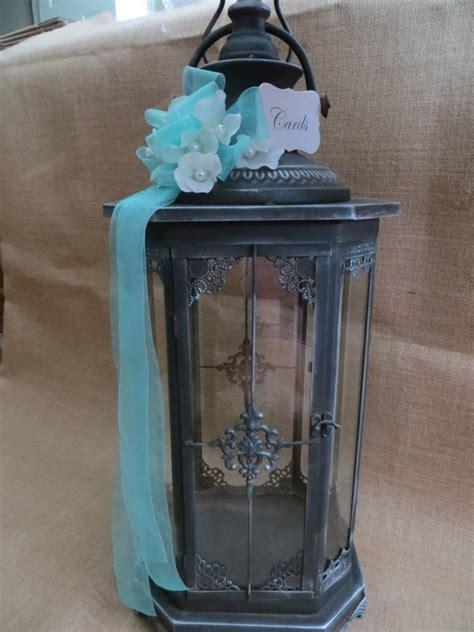 wedding card lantern your ribbons flowers wedding lantern