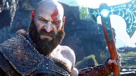 film god of war 2 god of war 4 cinematic trailer new ps4 2018 all game