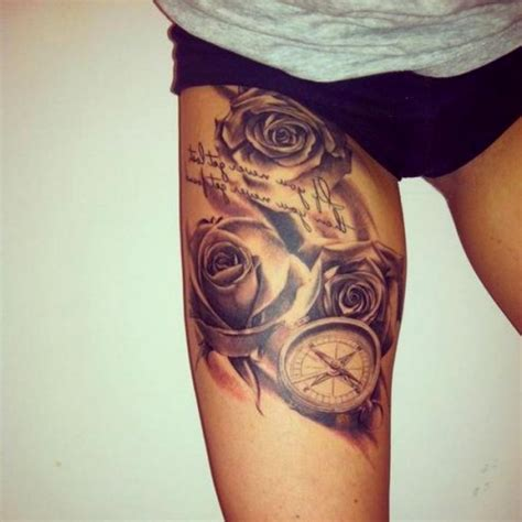 female leg tattoos designs ideas for on leg best thigh designs